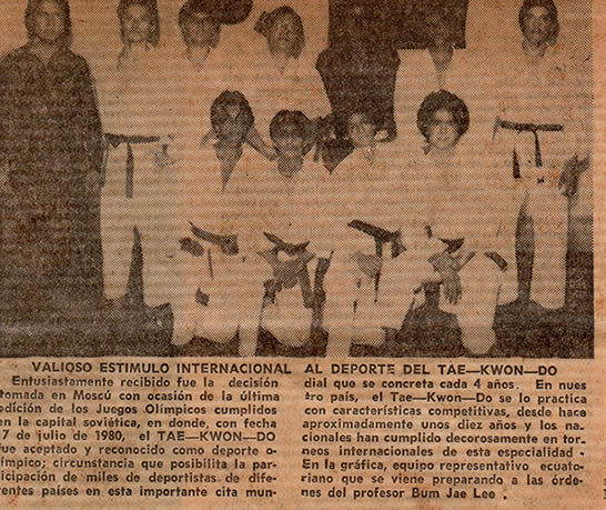 Tae Kwon Do Guayaquil
